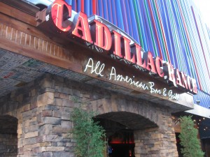 Cadillac Ranch All American Bar &amp; Grill on Urbanspoon