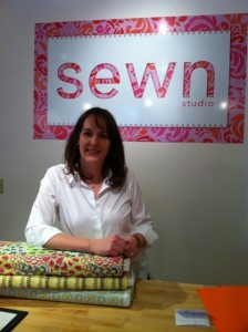 Sewn Studio Owner Stephanie Gilbreath