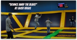 Lazer Bounce Slide Image