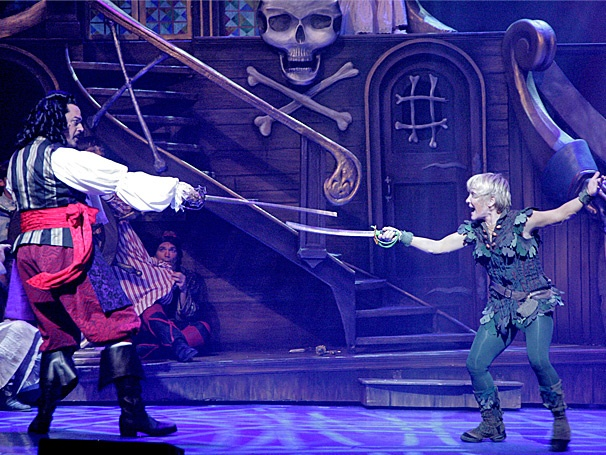 Cathy Rigby in the national tour of PETER PAN_Broadyway in Cincinnati
