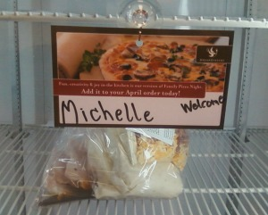My special spot in the freezer!