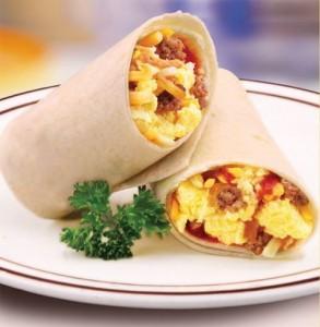 Burrito at Frischs