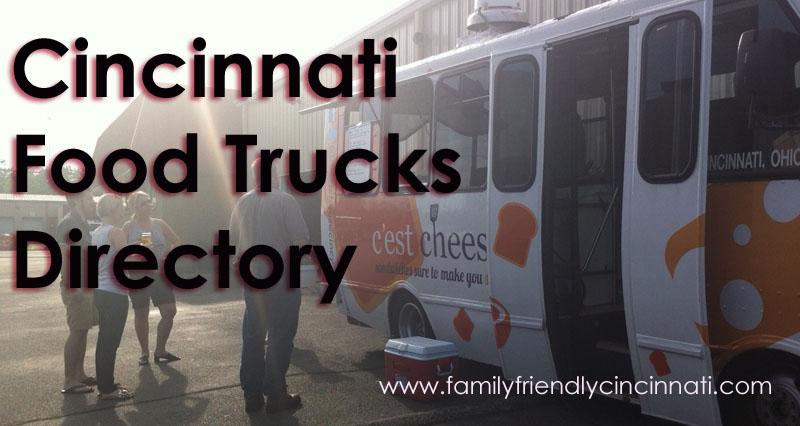 Cincinnati Food Truck directory
