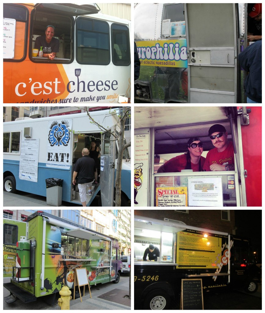 Cincinnati Food trucks  Collage