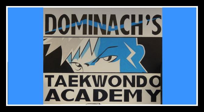 Dominach's Taekwondo banner
