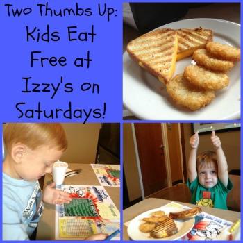 Izzy's Kids Eat Free