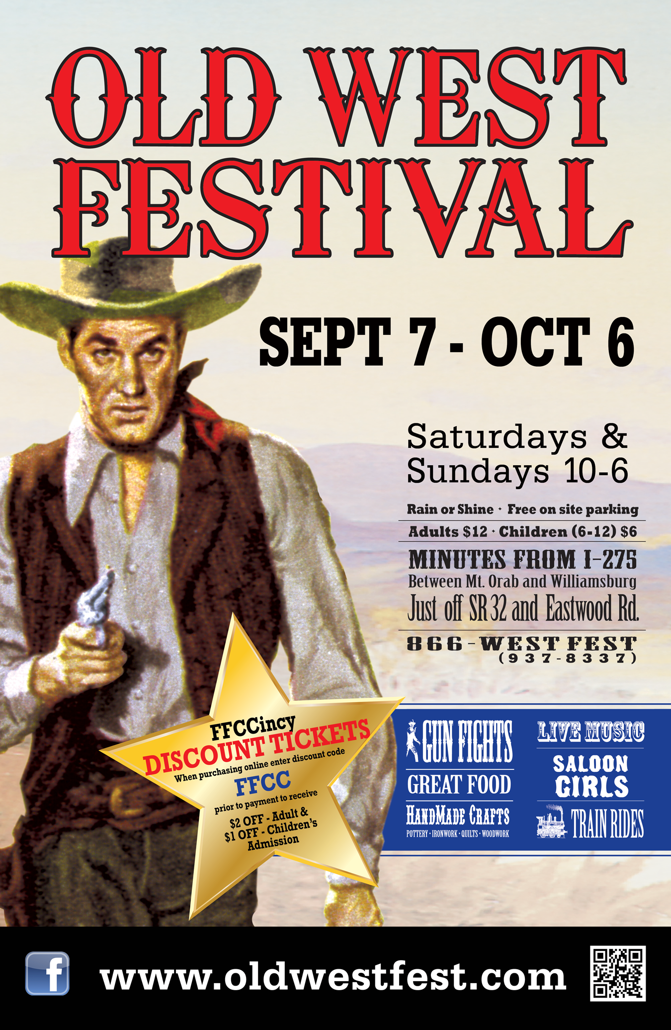 Old West Festival Discount