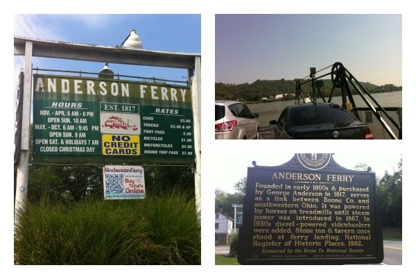 Anderson Ferry Collage