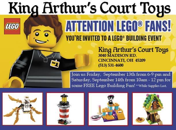 Lego at King Arthurs