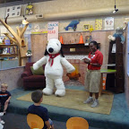 Story Time with Snoopy at blue manatee bookstore