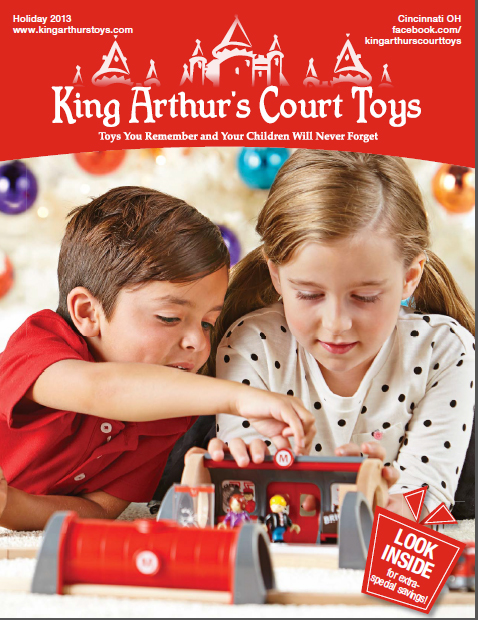 King Arthurs Court Toys Holiday Catalog 2013 Cover