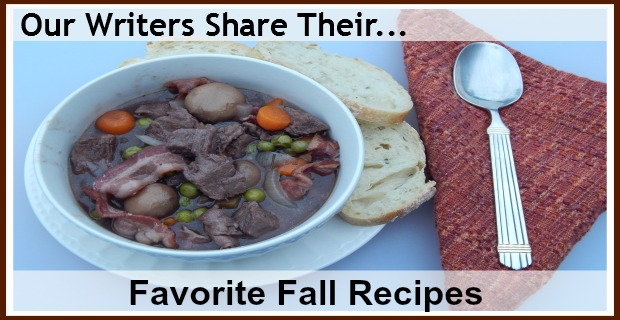 fall recipes banner