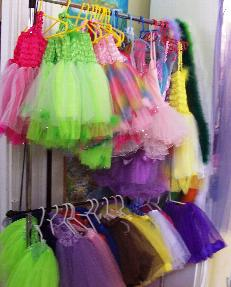 Tutus at Stoney's Gifts in Covington