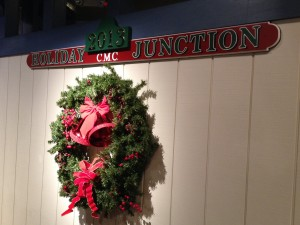 Holiday Trains Wreath